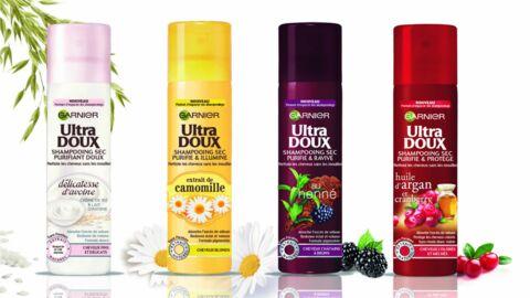 Garnier Ultra Doux dévoile ses nouveaux shampoings secs