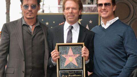 DIAPO Johnny Depp et Tom Cruise réunis pour l'étoile de Jerry Bruckheimer