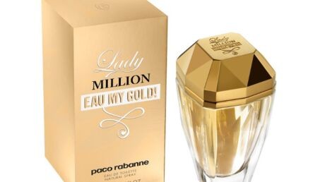 Le bonheur selon Paco Rabanne avec Eau My Gold!
