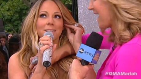 La robe de Mariah Carey craque en plein direct