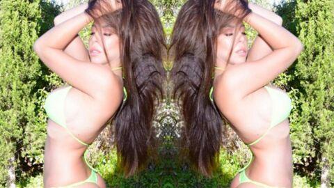 PHOTO Kim des Marseillais entièrement nue pour faire de la pub