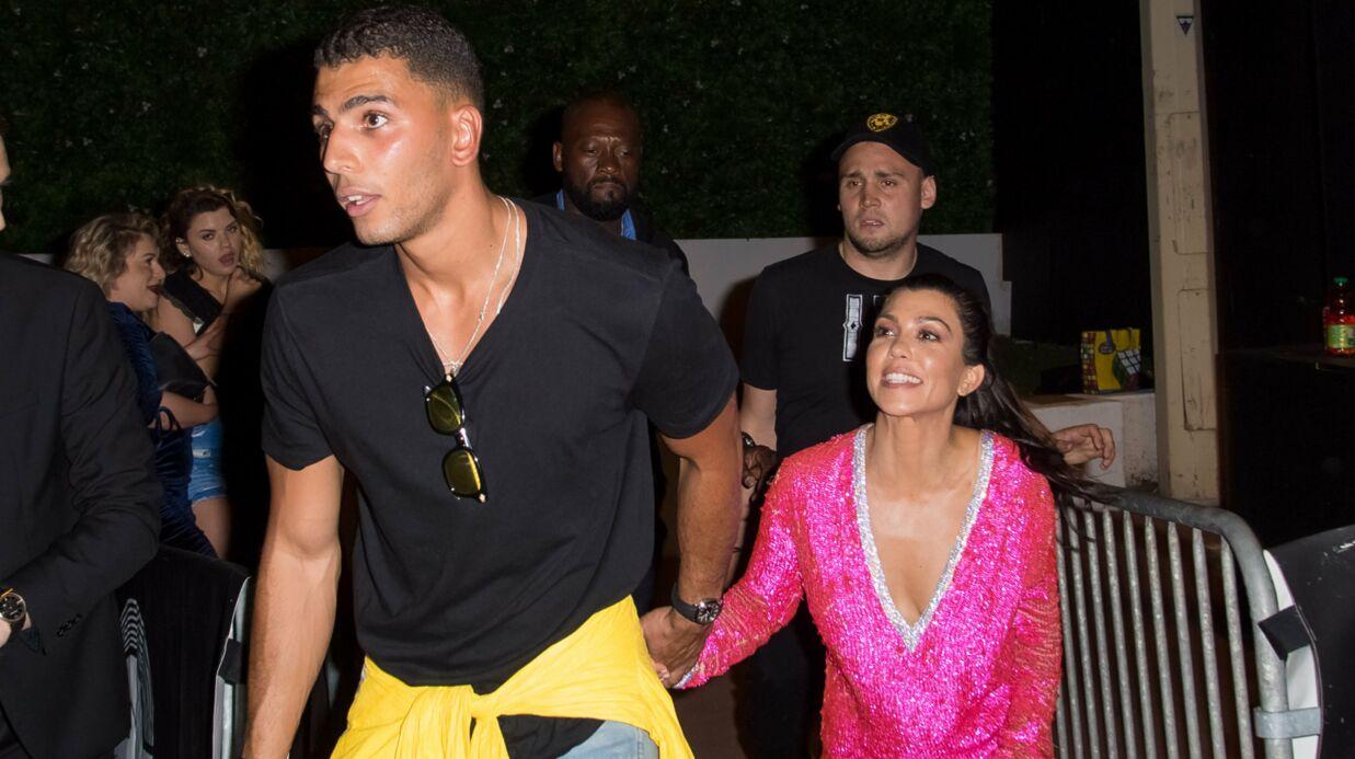 PHOTOS Kourtney Kardashian officialise avec son petit-ami français (et en montre un peu trop)