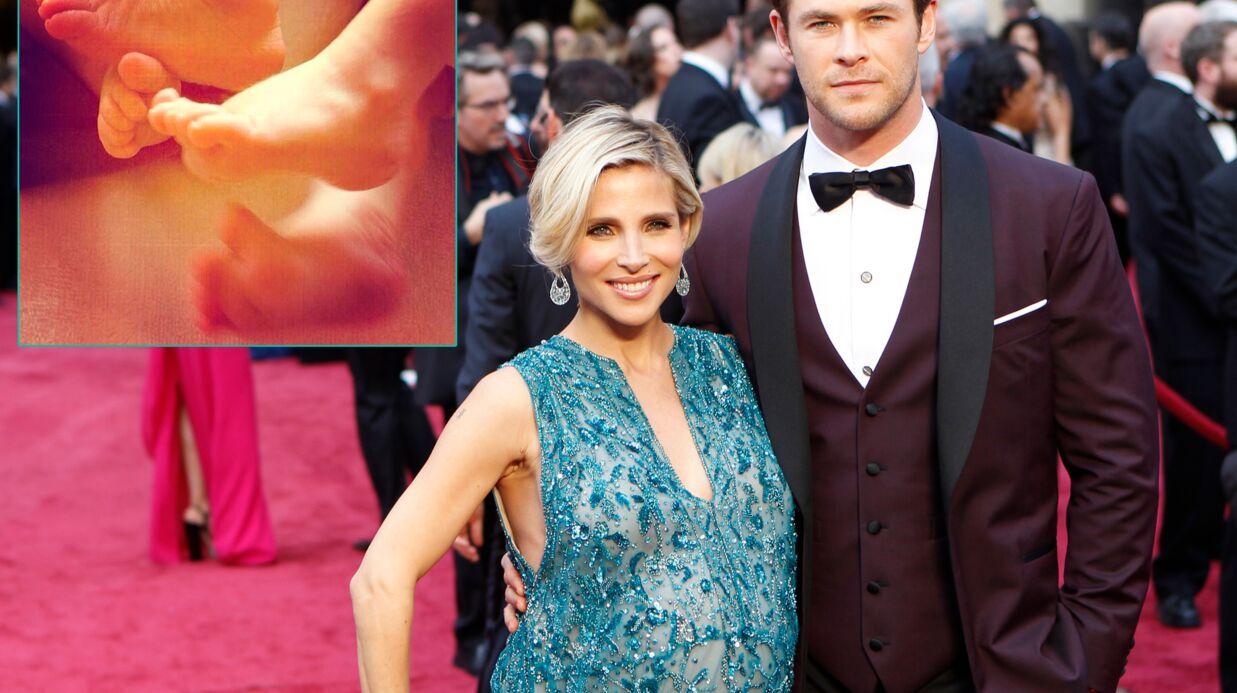 PHOTO Elsa Pataky et Chris Hemsworth présentent leurs jumeaux