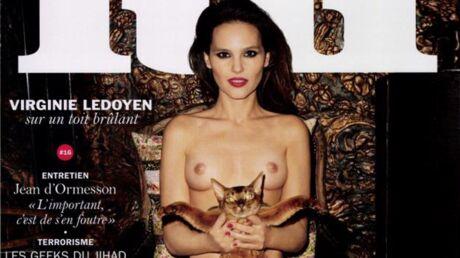 PHOTO Virginie Ledoyen topless et ultra sexy pour Lui