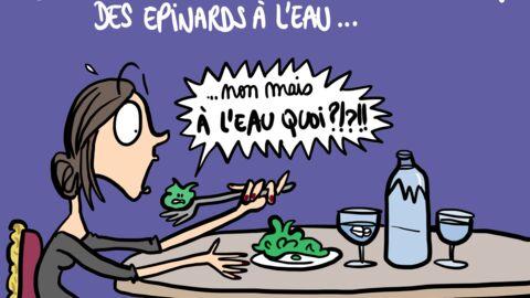Louison a croqué: ce que mange Victoria Beckham au restaurant est d'une tristesse…