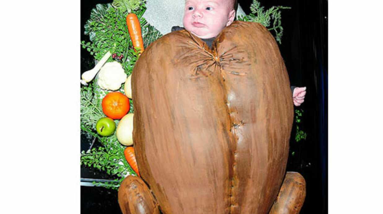 PHOTOS Tori Spelling déguise sa fille en dinde