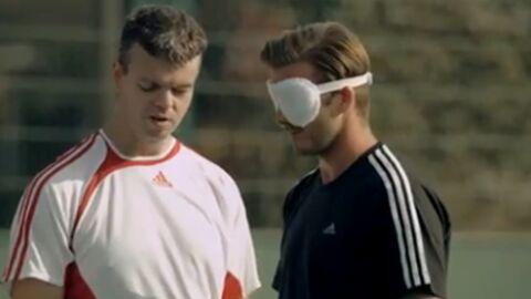 VIDEO David Beckham dans la peau d'un aveugle
