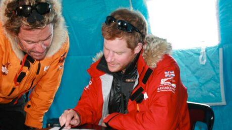 PHOTOS Le prince Harry s'entraîne en Antarctique pour une course