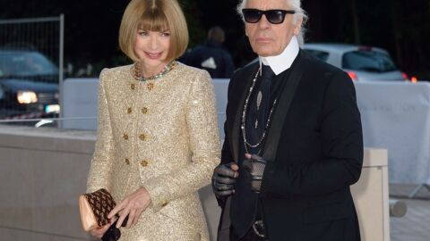 Karl Lagerfeld a fait construire un court de tennis chez lui pour faire plaisir à Anna Wintour