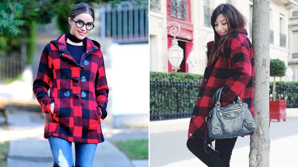 Le shopping de Marieluvpink: démarquez-vous en rouge et noir comme Olivia Culpo