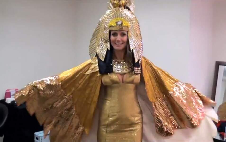 Heidi Klum en Cléopâtre