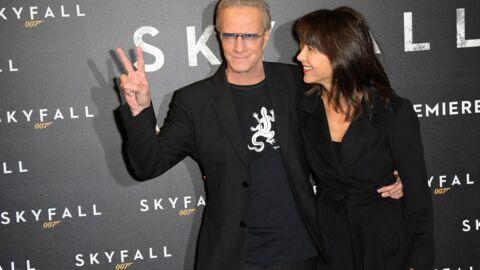 DIAPO Sophie Marceau et Christophe Lambert très amoureux à l'avant-première de Skyfall