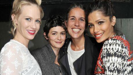 DIAPO Audrey Tautou, Leila Bekhti habillées par Isabel Marant pour H&M