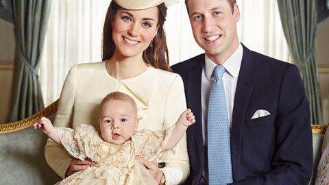 Les photos officielles du baptême du prince George avec toute la famille!