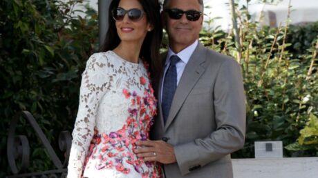 George et Amal Clooney: ils célèbrent à nouveau leur mariage à Londres!