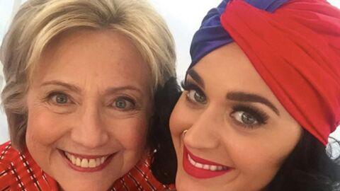 PHOTOS Katy Perry: son anniversaire avec Hilary Clinton!