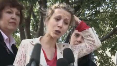 Affaire DSK: Tristane Banon a organisé un rassemblement