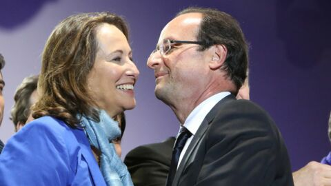 Ségolène Royal et François Hollande ensemble à New York