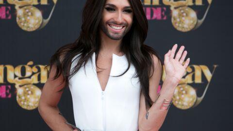 Conchita Wurst, la gagnante de l'Eurovision, débarque au Crazy Horse