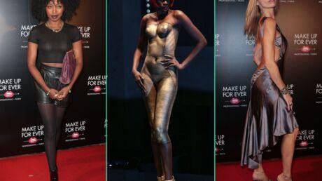 PHOTOS Tonya Kinzinger très décolletée, Inna Modja seins nus: sexy attitude pour Make Up For Ever