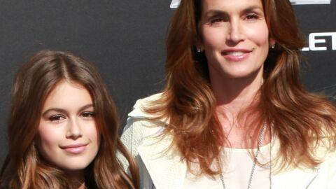 Cindy Crawford inquiète pour sa fille Kaia, elle aussi mannequin