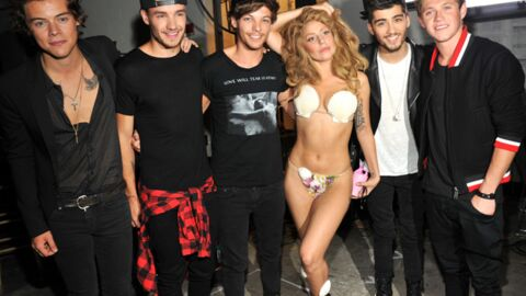 MTV VMA 2013 : Hués par le public, Lady Gaga réconforte les One Direction en coulisses