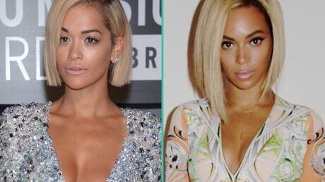 PHOTO Rita Ora, sosie troublant de Beyoncé aux MTV VMA 2013
