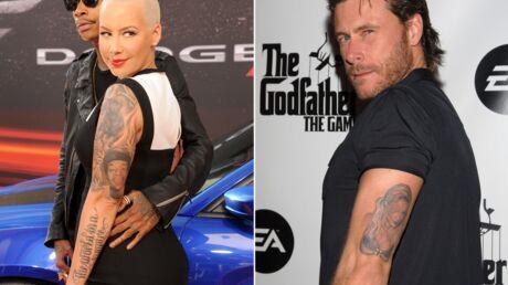 DIAPO Ces stars qui se sont fait tatouer le portrait de leur grand amour