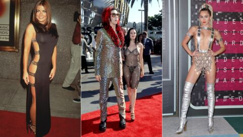 PHOTOS Les looks les plus sulfureux et improbables de l'histoire des MTV Video Music Awards