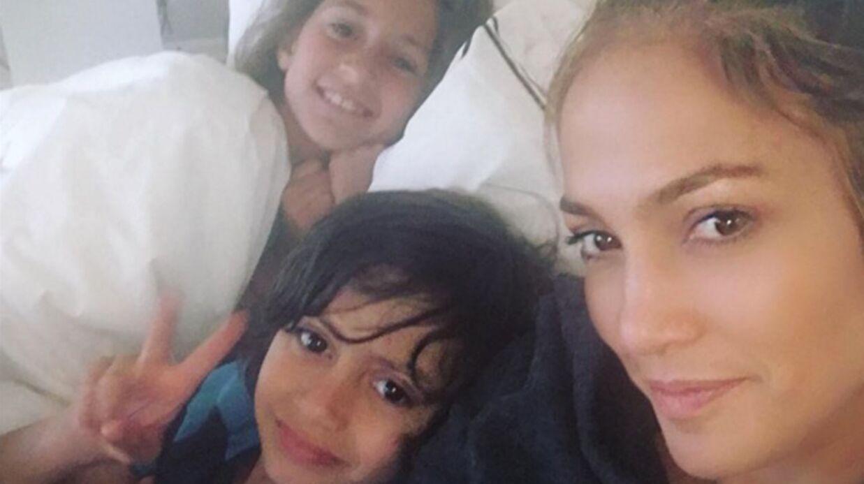Jennifer Lopez partage une photo craquante d'un tendre moment avec ses enfants