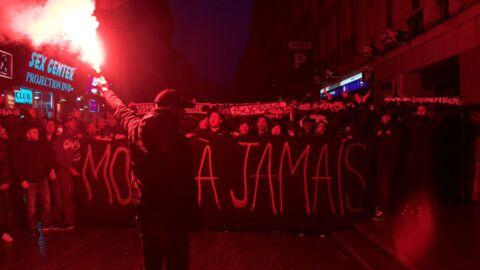 Mort de Momo: l'impressionnant hommage des supporters du PSG à l'animateur devant Skyrock