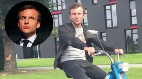 Eliott est le sosie d'Emmanuel Macron, et il se dit qu'il risque de passer 5 années compliquées