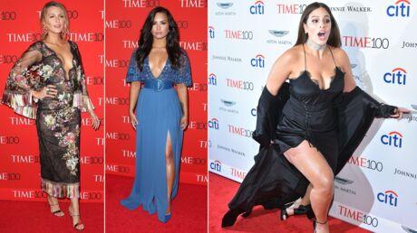 PHOTOS Gala du Time: Blake Lively et Demi Lovato TRÈS décolletées, la chute d'Ashley Graham
