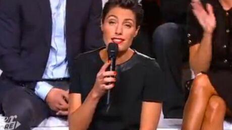 Alessandra Sublet est «fière» du buzz sexy sur ses cuisses