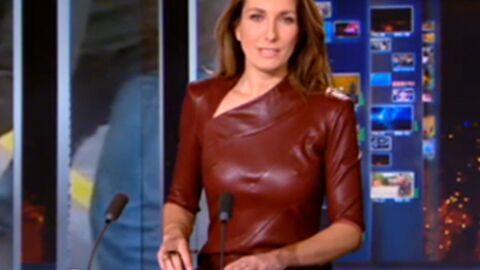 La poitrine très visible d'Anne-Claire Coudray affole les téléspectateurs de son JT