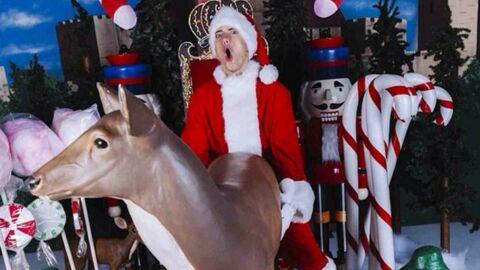 DIAPO Eminem «s'amuse» avec une biche et massacre l'esprit de Noël