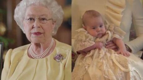 VIDEO Elizabeth II parle avec tendresse du petit prince George