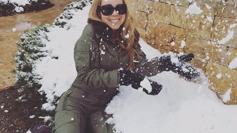 PHOTOS Le fabuleux Noël de Mariah Carey