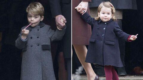 PHOTOS Famille royale: George et Charlotte trop mignons à la messe de Noël