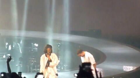 VIDEO Drake fait monter Rihanna sur scène à Paris