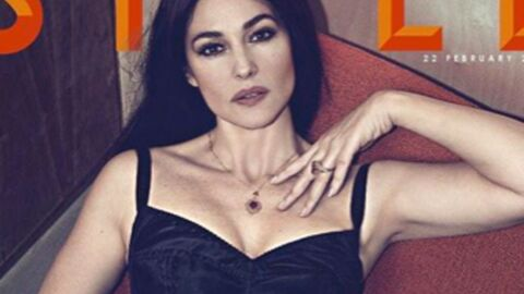 PHOTO Monica Bellucci, 50 ans, sexy en diable dans un body noir