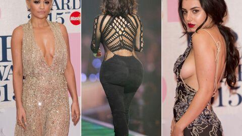 PHOTOS Rita Ora, Charli XCX, Kim Kardashian: bataille de tenues sexy aux BRIT Awards