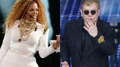 Elton John clashe Janet Jackson: «Je préfèrerais regarder une drag-queen»