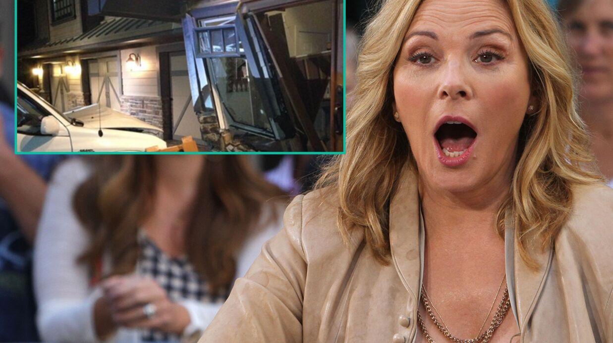 Kim Cattrall (Sex and the City) bouleversée: une voiture a défoncé une partie de sa maison