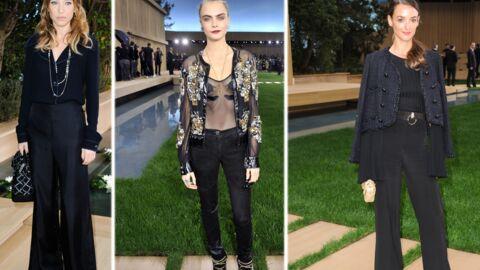 PHOTOS Laura Smet, Cara Delevingne et Charlotte Le Bon élégantes au défilé Chanel