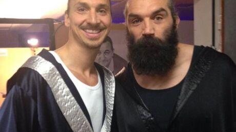 PHOTOS Les Enfoirés 2016: duel au sommet entre Zlatan et Sébastien Chabal