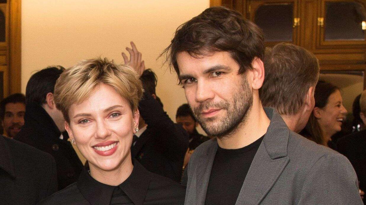 PHOTOS Leur divorce annoncé, Scarlett Johansson et son futur ex-mari s'affichent en public