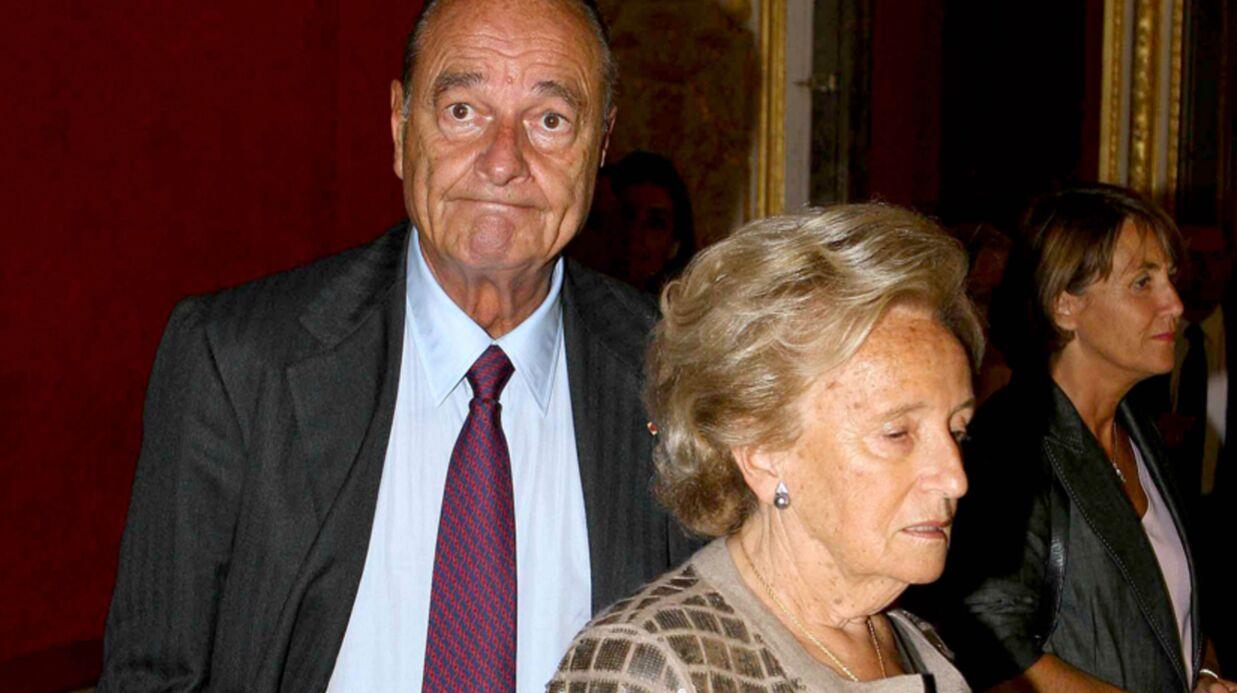 Bernadette Chirac évoque la santé de son mari