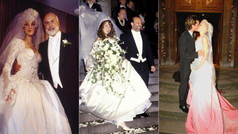PHOTOS 20 robes de mariées de stars délicieusement kitsch