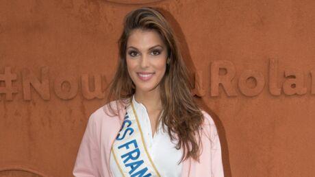 Iris Mittenaere doit annuler sa participation à la tournée Miss France à cause de sa chute à vélo